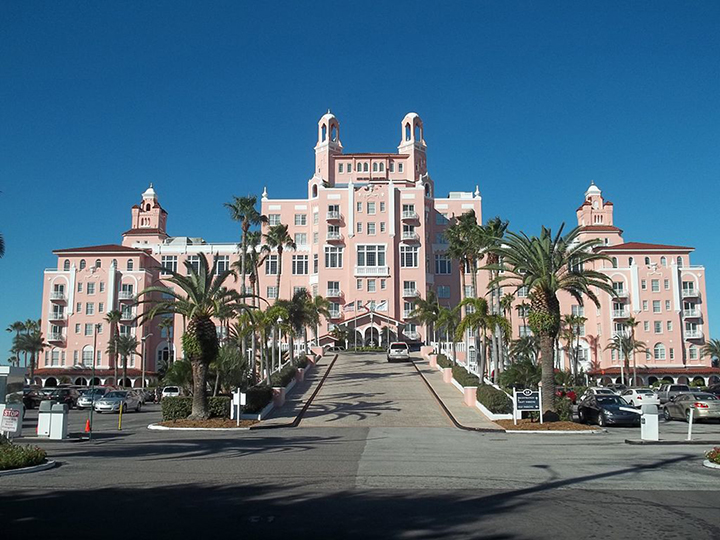 A hotel in St. Petersburg, Florida.
