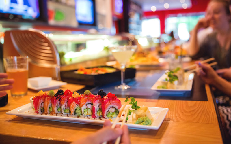 Check out the Cowfish website to see their full menu and more photos of sushi and other entrees.