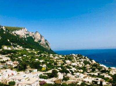 Italy's Amalfi Coast.
