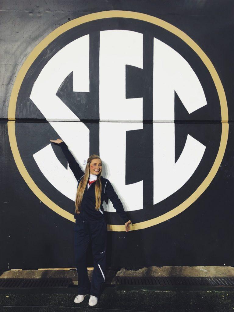 A SEC cheerleader.