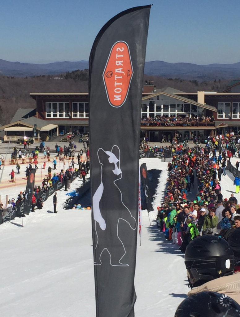 A ski resort in Vermont.