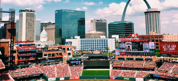 The city of St. Louis.