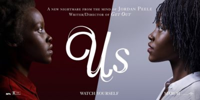 This is a movie poster from the movie US.
